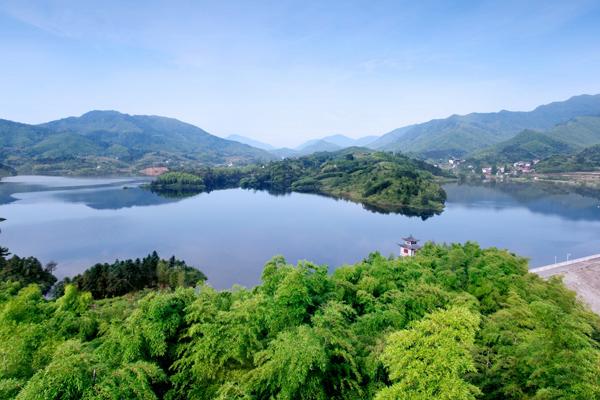 安吉人居环境优美-美丽乡村,生态县城